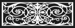 Design pattern railing E0009609 file cdr and dxf free vector download for Laser cut CNC  Pattern    railing