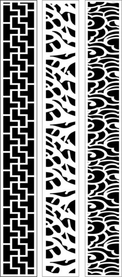 Design pattern woodcarving E0009624 file dxf free vector download for Laser cut CNC
