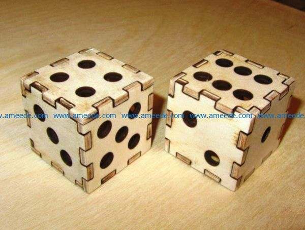 Dice file cdr and dxf free vector download for Laser cut
