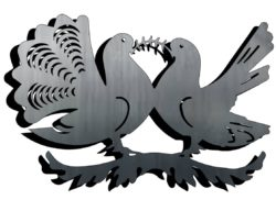 Dove file cdr and dxf free vector download for Laser cut Plasma