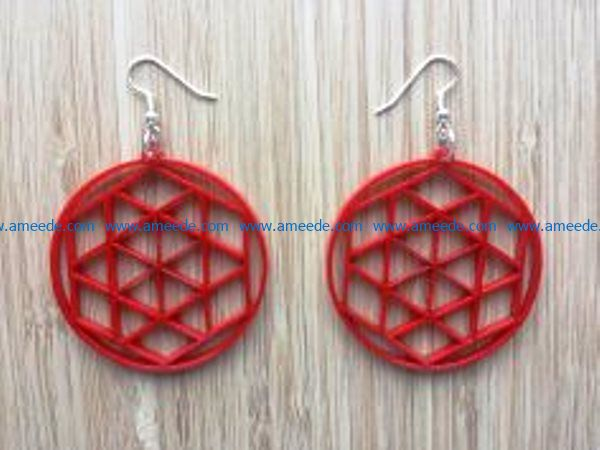 Earrings Jewelry Templates file cdr and dxf free vector download for Laser cut