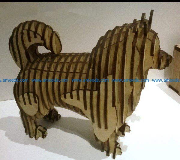 Fox dog file cdr and dxf free vector download for Laser cut