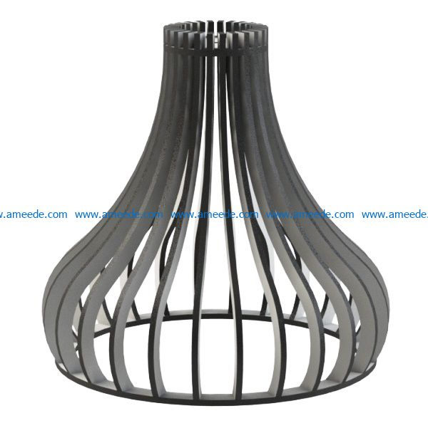 MDF Lamps file cdr and dxf free vector download for Laser cut