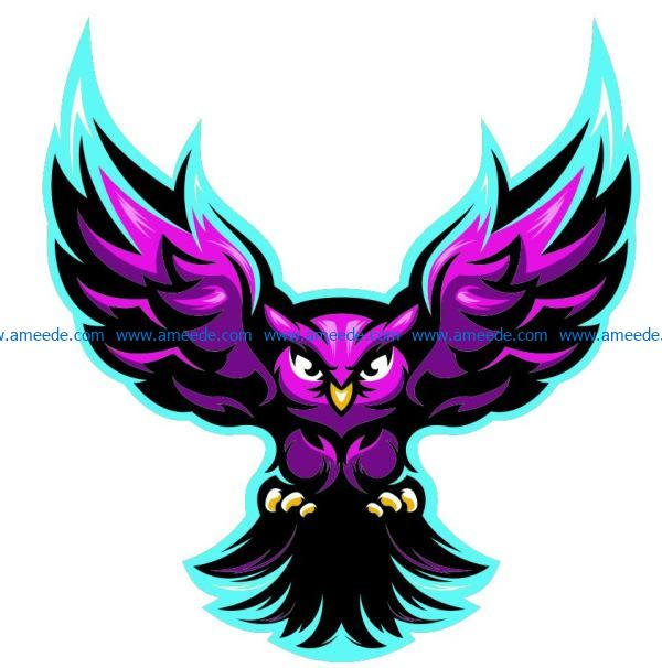 Multilayer owl file cdr and dxf free vector download for Laser cut