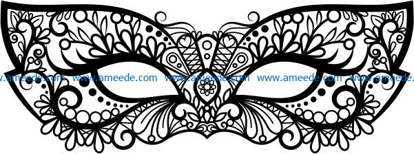 Perfect mask file cdr and dxf free vector download for laser engraving machines
