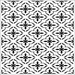 Square decoration E0009218 file cdr and dxf free vector download for Laser cut CNC