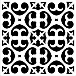 Square decoration E0009333 file cdr and dxf free vector download for Laser cut CNC