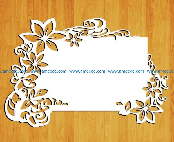 Wedding font file cdr and dxf free vector download for Laser cut