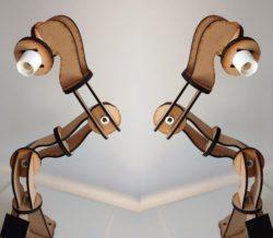 desk lamp design file cdr and dxf free vector download for Laser cut