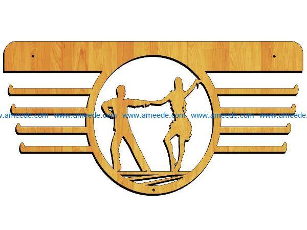medalist master ballroom dancing free vector download for Laser cut Plasma
