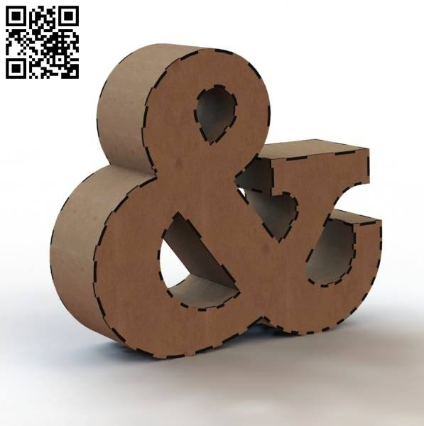 3d letter & file cdr and dxf free vector download for Laser cut