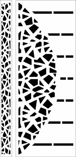 Design pattern door E0009751 file cdr and dxf free vector download for Laser cut CNC