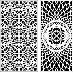 Design pattern panel screen E0009752 file cdr and dxf free vector download for Laser cut CNC