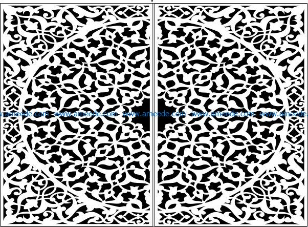 Design Pattern Door E0009753 File Cdr And Dxf Free Vector