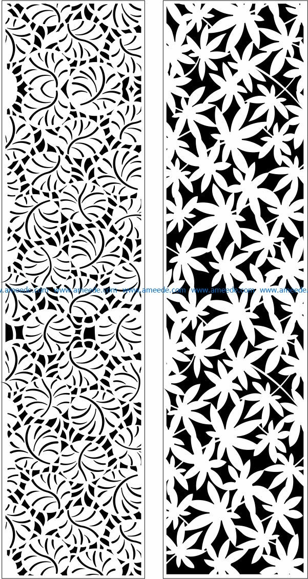 Design pattern panel screen E0009726 file cdr and dxf free vector download for Laser cut CNC