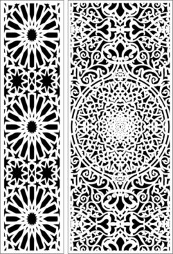 Design pattern panel screen E0009728 file cdr and dxf free vector download for Laser cut CNC