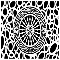 Design pattern panel screen E0009794 file cdr and dxf free vector download for Laser cut CNC