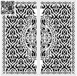 Design pattern screen panel E0010035 file cdr and dxf free vector download for Laser cut CNC