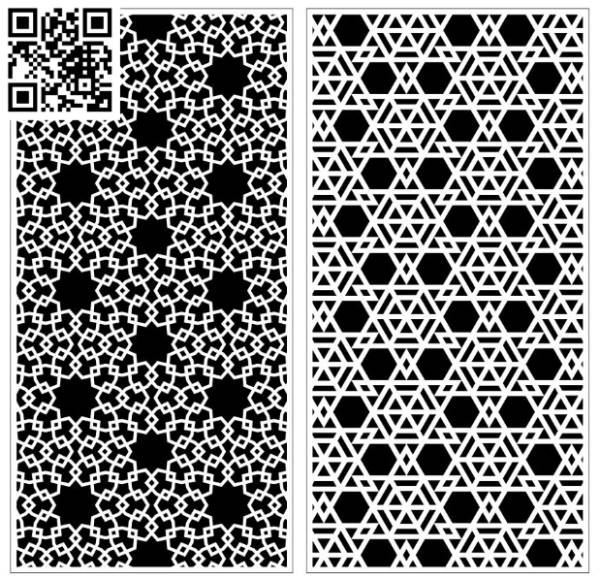 Design pattern screen panel E0010102 file cdr and dxf free vector download for Laser cut CNC
