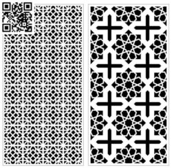 Design pattern screen panel E0010103 file cdr and dxf free vector download for Laser cut CNC