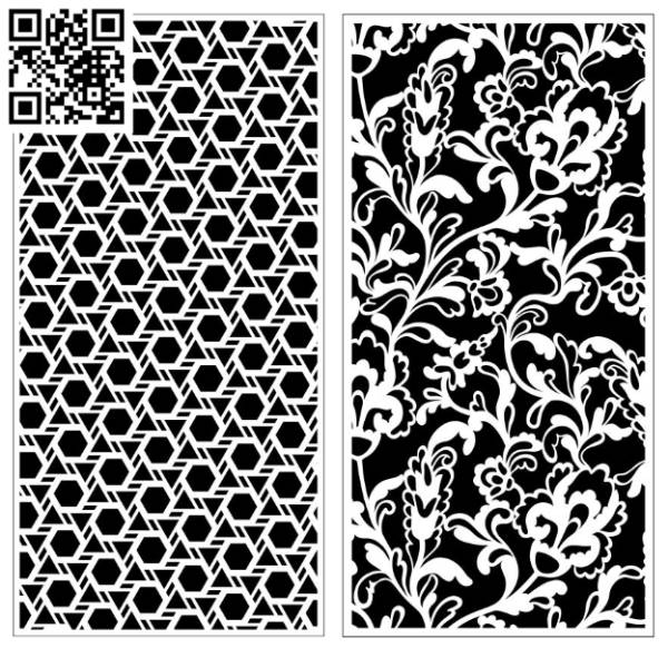 Design pattern screen panel E0010104 file cdr and dxf free vector download for Laser cut CNC