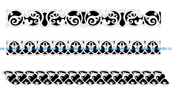 Design pattern woodcarving E0009927 file dxf free vector download for Laser cut CNC