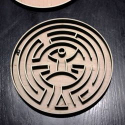 Game maze file cdr and dxf free vector download for Laser cut