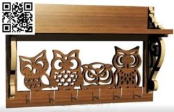 Owl housekeeper file cdr and dxf free vector download for Laser cut