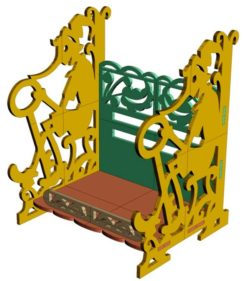 Pinocchio shelf file cdr and dxf free vector download for Laser cut