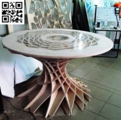 Round table file cdr and dxf free vector download for Laser cut