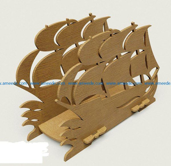 Sailboat file cdr and dxf free vector download for Laser cut