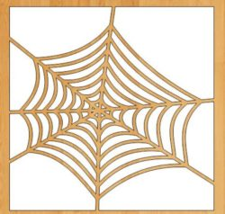 Spiderweb file cdr and dxf free vector download for Laser cut