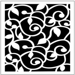 Square decoration E0009826 file cdr and dxf free vector download for Laser cut