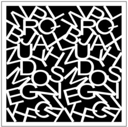 Square decoration E0009828 file cdr and dxf free vector download for Laser cut
