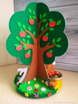 Toy tree for children file cdr and dxf free vector download for Laser cut