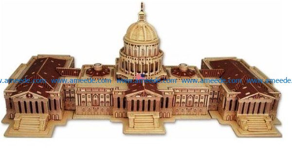 United States Congress Building File Cdr And Dxf Free