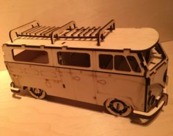 Volkswagen bus file cdr and dxf free vector download for Laser cut