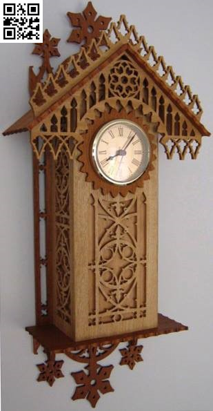 Wooden clock wall file cdr and dxf free vector download for Laser cut