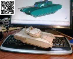 army tank model file cdr and dxf free vector download for Laser cut