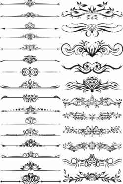 decor element file cdr and dxf free vector download for laser engraving machines