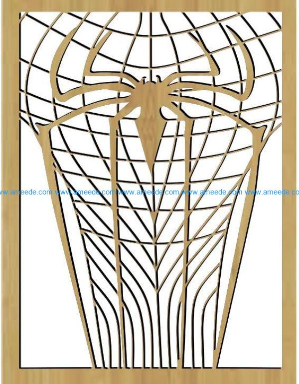 spider file cdr and dxf free vector download for Laser cut
