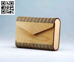 Wooden bag file cdr and dxf free vector download for Laser cut