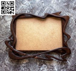 Wooden photo frame file cdr and dxf free vector download for Laser cut