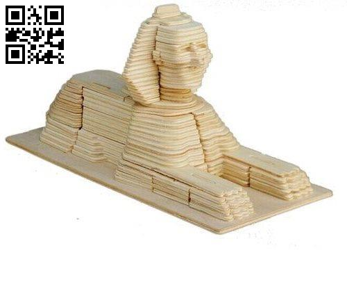 Sphinx file cdr and dxf free vector download for Laser cut
