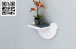 Bird shelf file cdr and dxf free vector download for Laser cut