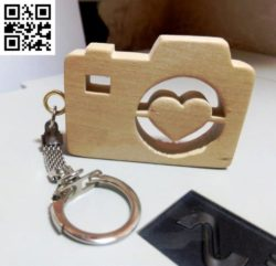 Camera keychains file cdr and dxf free vector download for Laser cut