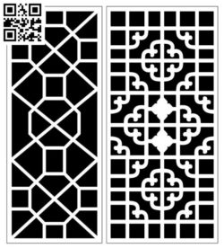 Design pattern screen panel E0010172 file cdr and dxf free vector download for Laser cut CNC