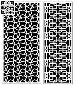Design pattern screen panel E0010175 file cdr and dxf free vector download for Laser cut CNC