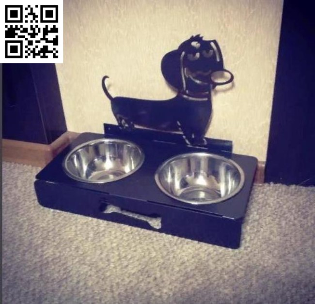 Dog food bowl file cdr and dxf free vector download for Laser cut Plasma