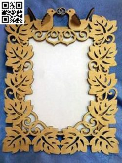 Dove photo frame file cdr and dxf free vector download for Laser cut